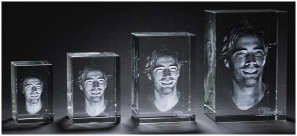 3d Kristal Fotoğraf