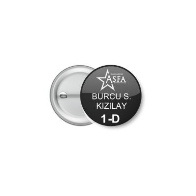 Buton Rozet 04- (50-adet) (37mm)