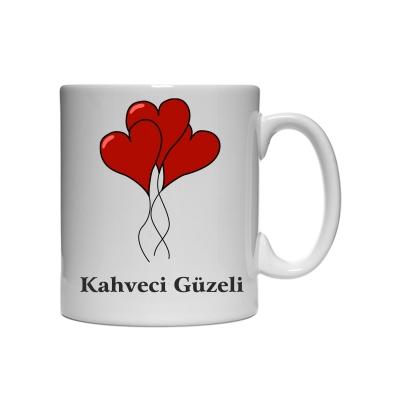 Kahveci Güzeli Kupa Bardak