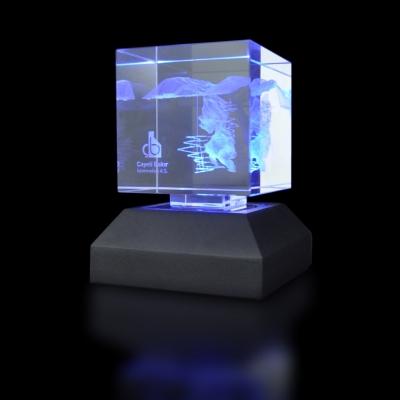 3d Kristal Plaket 22