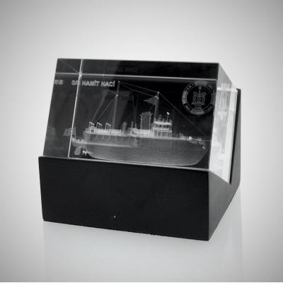 Lazer Kristal Plaket 06