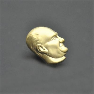Atatürk Rozet Yan Altın