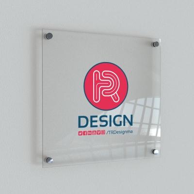 Cam Ofis Tabelası-20x30