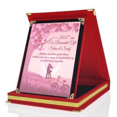 En Romantik Plaket Hediye