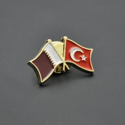 Türkiye Katar Bayrağı Rozeti