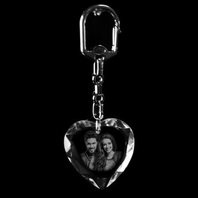 Kristal Anahtarlık Kalp