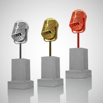 Kristal plaket-102 (mikrofon-kristal)