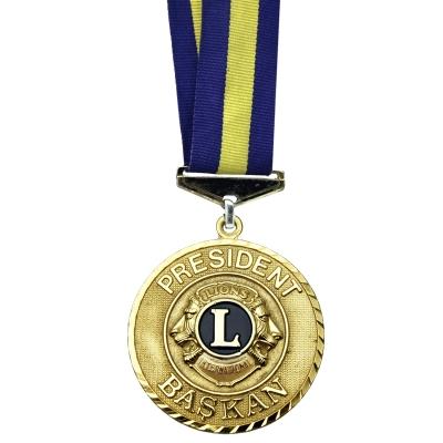 Lions Başkanı Madalya
