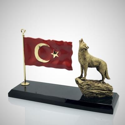 Türk Bayraklı Bozkurt