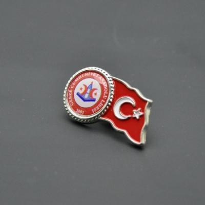 Türk Bayraklı Damla Rozet