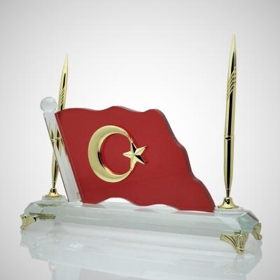 Kristal Türk Bayrak İsimlik