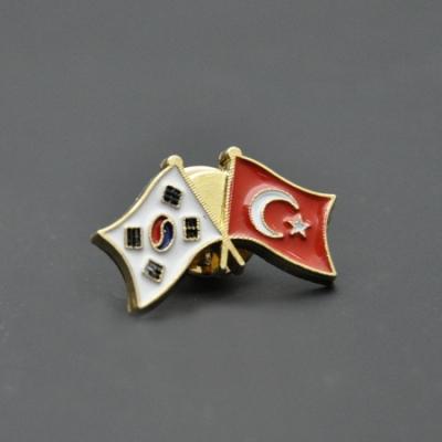Türkiye Kore Bayrak Rozeti