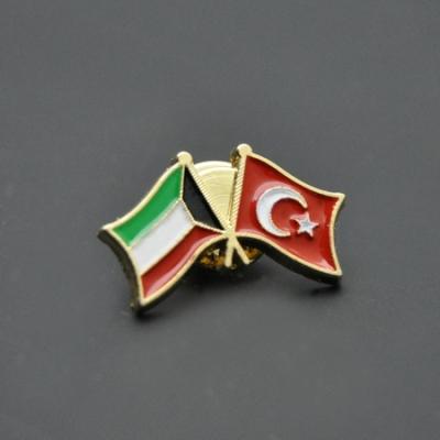 Türkiye Kuveyt Bayrak Rozeti