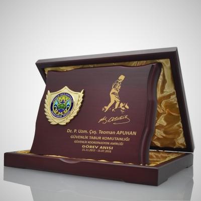 Vip Ahşap Plaket 2530-04