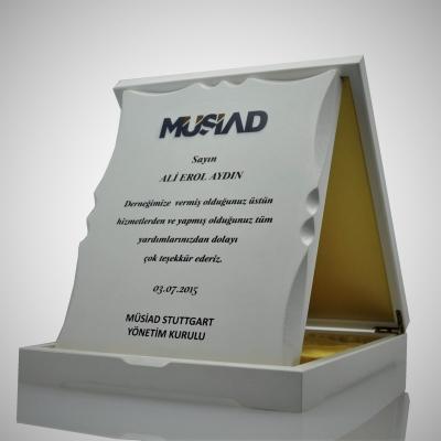Vip Ahşap Plaket 2530-06