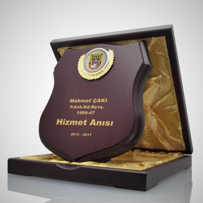 Vip Ahşap Plaket 2530-08