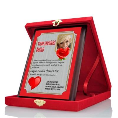 Sevgiliye Plaket Yılın Sevgilisi
